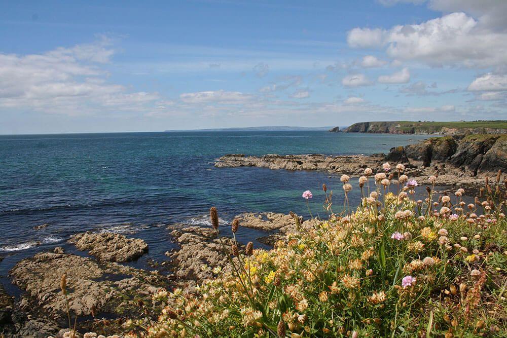 Irelands beautiful copper coast